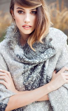 Be seen in the cover up of the season with our Cadi Check Textured Blanket Cape. Oliver Bonus, Blanket Sizes, Check Printing, Faux Fur Collar, Knitwear, Cape, Cover Up, Girls Dresses, Turtle Neck
