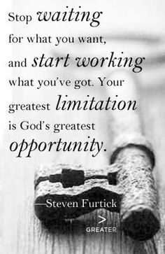 Steven Furtick LOVE this quote in Greater