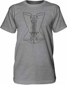 Mintage Le Corset Mens Fine Jersey Tall T-Shirt