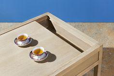 Coffee Table - collezione Wunderbuffet Warm and Wood - Rovere certificato Pefc termotrattato Bio Antique® - pannelli sandwich isolanti per il mantenimento della temperatura interna di cibi e bevande