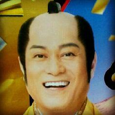 松平健 Smile, Laughing