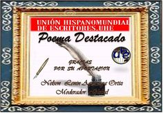 Dos ruidos - UNIÓN HISPANOMUNDIAL DE ESCRITORES. UHE Profile, Blog, Door Prizes, Writers, User Profile, Blogging
