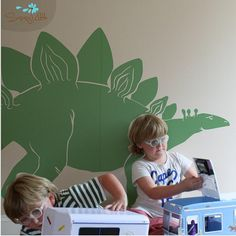 stegosauras decal