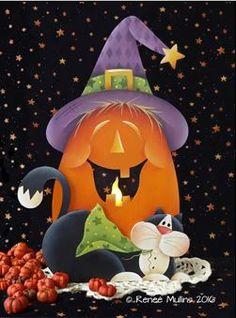 """#701 """"Halloweeen Magic"""" (PATTERN)"""