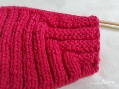 대바늘 모자 스텔라픽시 요정모자 뜨기 (도안,뜨는법) : 네이버 블로그 Knitted Hats, Knitting, Patterns, Tejidos, Block Prints, Tricot, Knit Caps, Cast On Knitting, Stricken