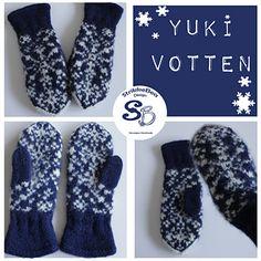 Ravelry: Yuki Votter pattern by StrikkeBea