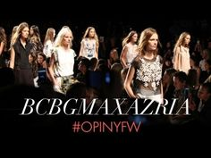 OPI @ NYFW: BCBGMAZAZRIA Runway Nails  - Check out the use of RapiDry Spray...cuts the drying time in half!