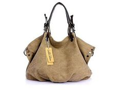 Journey Canvas Handbag - 4 Colors for only $44.99