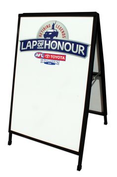 Think a blackboard is cool? What about a whiteboard! Score your teams or draw your messages on daily for your very own customised branding space! Visit www.staroutdoor.com.au today to find out how you can own one for your business.