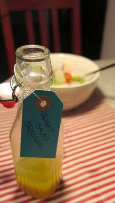 Süßes Honig Senf Salat Dressing