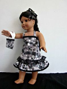 American Girl Clothes 18 Inch Doll Dresses by SweetpeasBowsNmore