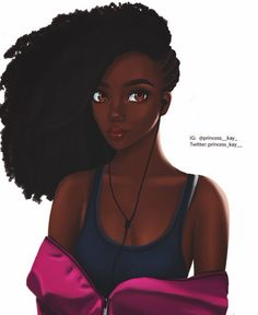 Fantasting Drawing Hairstyles For Characters Ideas. Amazing Drawing Hairstyles For Characters Ideas. Black Love Art, Black Girl Art, My Black Is Beautiful, Black Girls Rock, Black Girl Magic, Art Girl, African American Art, African Art, Natural Hair Art