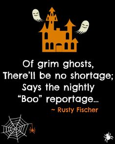 The Ghost Channel. A Halloween poem Halloween Rhymes, Halloween Poems, Halloween Greetings, Halloween Images, Halloween Projects, Halloween Art, Pumpkin Poem, Which Witch, Little Monsters