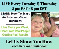Be Your Own Boss!! Work from wherever and whenever you want. Have more time / freedom and a work-life balance to enjoy what matters most. Learn and start your own online business. It's fun, easy and there's tons of benefits to earning in the online space. Register to watch our FREE workshop to get started today! www.derekandjanine.com Look forward to working with you! Derek & Janine #DerekandJanine #DJGetLivingNow #StartLivingYourBestLifeNow Your Best Life Now, Be Your Own Boss, What Matters Most, Work Life Balance, Online Earning, Online Work, Online Business, Workshop, Learning