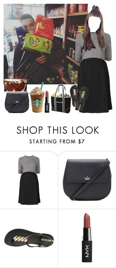 """""""liam buying your fav. food to satisfy your baby cravings"""" by nblankenship ❤ liked on Polyvore featuring Payne, Topshop, Kate Spade, IPANEMA and Picnic at Ascot"""