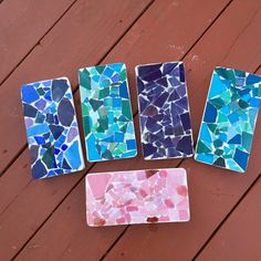 Mosaic Bricks by RobinsNestMosiacs on Etsy
