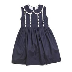 RACHEL RILEY Smocked Dress. hmm, i don't see any smocking, but i like the ric rac detail.