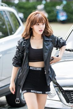 TOP 10 Sexiest Outfits Of AOA Jimin - List Cards Embed - Quietly