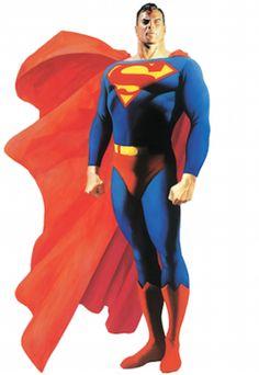 Superman is a fictional superhero appearing in American comic books published by DC Comics. Clark Kent, Comic Book Artists, Comic Artist, Comic Books Art, Superhero Characters, Dc Characters, Alex Ross, Dc Comics Art, Fun Comics