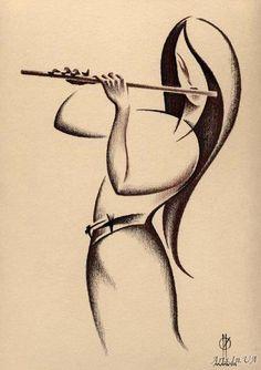 flute player..artist?