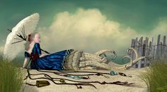 Ray Caesar's Heartless Nymphs - My Modern Met