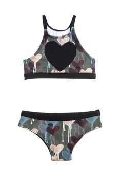 Camouflage 2 piece