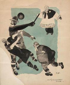 Дейнека А.А. Современные попы. 1928