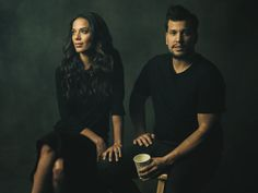 """The longer you're out on the road, it gets nicer to have [Abner Ramirez] there. Because he's the closest thing to home I have,"" Johnnyswim'..."