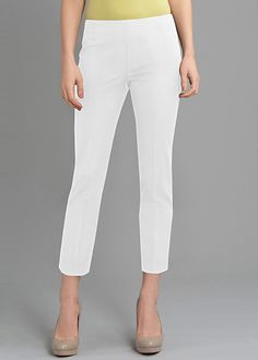 Petite Jodhpur Cloth Cropped Bleecker Pant : Womens Pants & Designer Slacks | Lafayette148ny.com