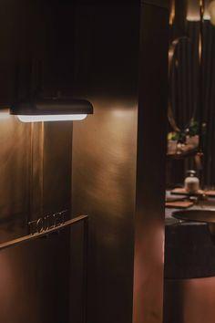 山外餐厅 SunWay Restaurant on Behance Bar Interior, Interior Design, Chinese Restaurant, Cafe Design, Interior Architecture, Door Handles, Wall Lights, Behance, Display