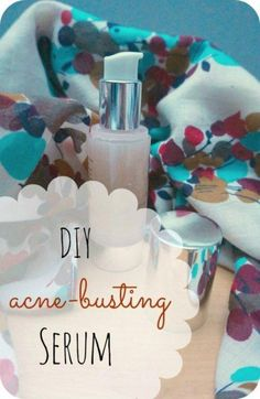 DIY Acne-busting, Balancing 'Good Night' Serum No more sleepless beauty rest with this DIY acne-busting serum! Let me tell you about the day I first used Aloe Vera gel: I bought a bottle of Aloe Vera Gel, used it on my face, and never stopped loving it. Gel Aloe, Aloe Vera Gel, Best Night Serum, Dark Spots On Legs, Acne Serum, Back Acne Treatment, How To Get Rid Of Acne, Acne Remedies, Hair