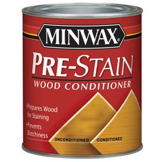 Minwax 32-fl oz Pre-Stain Wood Conditioner | Lowe's Canada