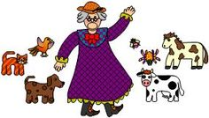 A link that actually works-There was an old lady who swallowed a fly printable black and white and color!