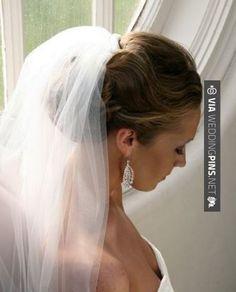 Bridal hair with veil and. Bridal hair with veil and flowers. Bridal hair with veil and tiara. Bridal hair with veil and headband. Bridal hair updo with veil and tiara. Wedding Hair And Makeup, Wedding Hair Accessories, Hair Makeup, Hair Wedding, Wedding Beauty, Veil Hairstyles, Wedding Hairstyles With Veil, Hairstyle Ideas, Fashion Hairstyles
