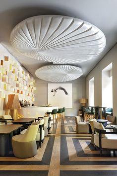 Restaurant Interior Design Ideas: Otto, in Madrid Restaurant Layout, Modern Restaurant, Luxury Restaurant, Bar Interior Design, Boutique Interior Design, Restaurant Interior Design, Cafe Design, Restaurants, Hotel Interiors