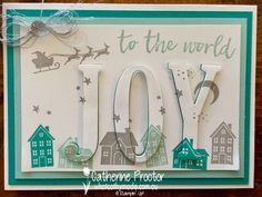 Large Letters Framelits, Hearts Come Home, Silver Metallic Thread, Clear Faceted Gems - Heart of Christmas Week 17 - Eclipse card