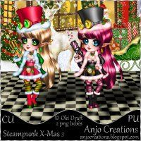 CU-PU Steampunk X-Mas 3