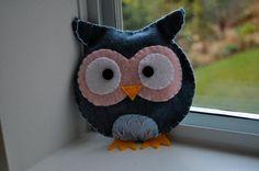 Handmade owl stuffy