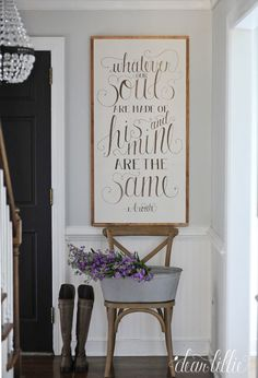 Wuthering Heights Quote, Emily Bronte -Whatever Souls Handmade Oversized Wood Sign