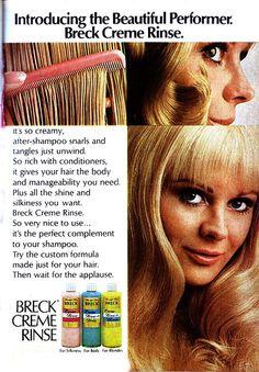 Breck Creme Rinse 1970.