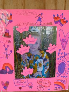 Pin the tiara on Abby, for a Fancy Nancy Party