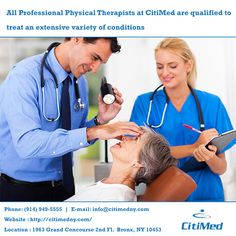 CitiMed's experienced, highly-trained physical therapists provide the highest level of therapeutic treatment the profession has to offer. http://citimedny.com/
