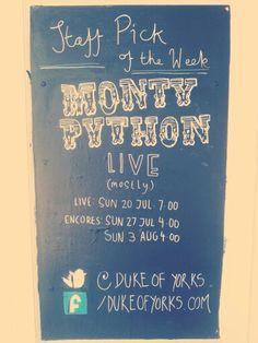 Monty Python live (mostly) :)