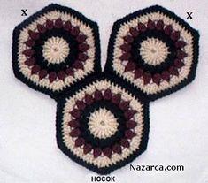 Hexagon Boot Slippers- super easy, min favoritt :-D Crochet Art, Crochet Shoes, Crochet Granny, Crochet Motif, Crochet Patterns, Crochet Baby Dress Pattern, Crochet Slipper Pattern, Granny Square Slippers, Patron Crochet
