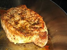 Boston Chef: Perfect Pork Chop. FINALLY figured out how to make a tender boneless pork chop.