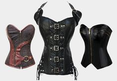 Nothing says sexy like a leather corset. Find them on RebelsMarket