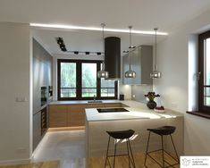 Kitchen Bar Design, Kitchen Cupboard Designs, Best Kitchen Cabinets, Best Kitchen Designs, Home Decor Kitchen, Interior Design Kitchen, Modern Kitchen Interiors, Modern Farmhouse Kitchens, Small Apartment Interior