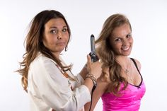 Hairstyling voor de fotoshoot  - La coiffure fait pour le photshoot