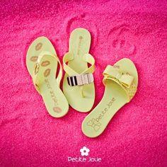 Chinelos Petite Jolie Verão 2014 www.petitejolie.com.br