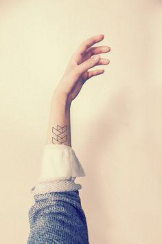 minimal arm tattoo